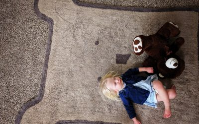 A Washable Rug that is Beautiful for the Home and Durable for the Little Ones!