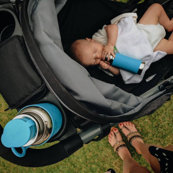 Giving Your Baby the Best Start, 100% Plastic Free Bottles | Pura Stainless Review