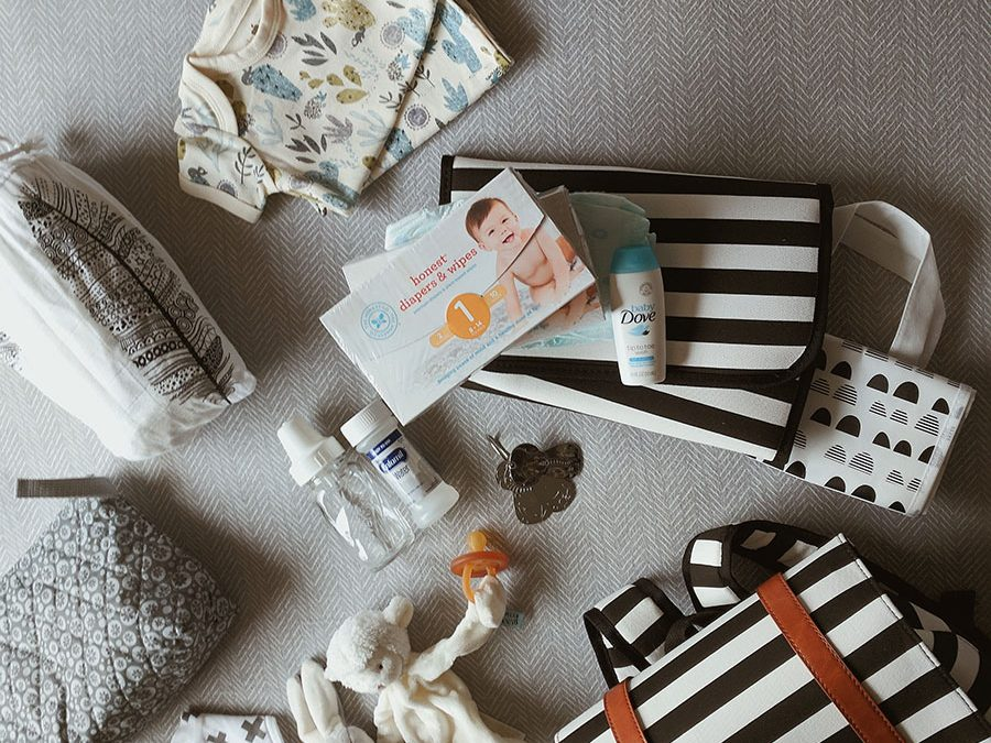 My Diaper Bag Must Haves – Mama to 3 Under 3!