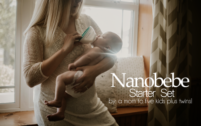 Nanobebe Bottle Review! Finally, a Bottle for the Pumping Mamas!