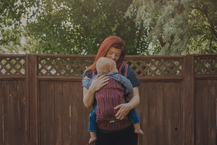 Soul Slings – A Solid Baby Carrier for Babies from 7LBS to 44LBS!