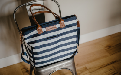 A Breast Pump Bag You'll Love, Sarah Wells brings style & functionality to Moms like us!