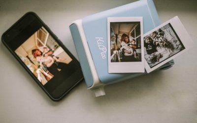 Print your photos anywhere with a KiiPix smartphone printer!
