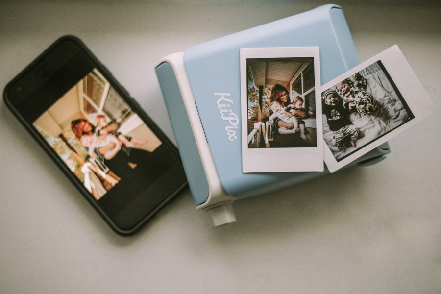 Print your photos anywhere with a KiiPix smartphone printer!