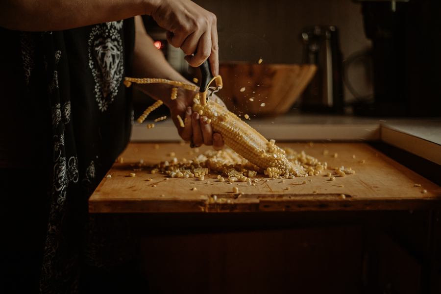 OXO – Making life a bit easier. Check out how I made Esquites using their corn prep peeler!
